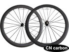 1390g only 50mm Clincher carbon road wheelset 20.5mm,23mm,25mm,27.5mm rim width