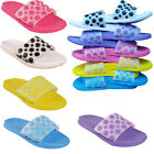 WOMENS FLIP FLOPS JELLY CHEAP SANDALS LADIES OPEN TOE SUMMER BEACH MULE UK SIZE