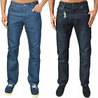 Mens Designer ETO Jeans Regular Fit Straight Leg Denim Pants Trousers 5 Pocket
