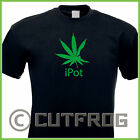 Design T-Shirt iPot Parodie Gras Apple Pot Cannabis Fun