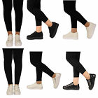 LADIES WOMENS FLATFORM FLAT SLIP ON SKATER FASHION PLATFORM PUMPS TRAINERS SHOES