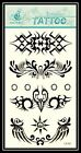 Sun & Moon Emblem Fire & Light Tribal Totem Removable Temporary Tattoo GF507