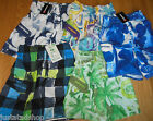 Quiksilver boy swim shorts  7-8, 9-10, 11-12, 15-16 y BNWT beach