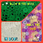 NEW UV Solar color change + Glow in Dark Pony Bead fit Rainbow Loom Rubber band