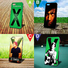 Ed Sheeran Back Cover Case For iPhone 4 5 6 and iPod 4 5 Nano 7