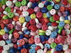 25, 100 or 600 Tiny, 6mm, Round Buttons. Assorted Colours (B15)