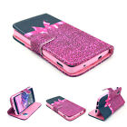 Protect Flip Skins Stand Card Wallet Leather Case Cover For Samsung Galaxy Phone
