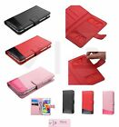 Universal Cell Phone Cover Leather Flip Wallet Case Pouch Folio Size 4.0- 4.5