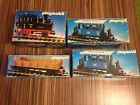 PLAYMOBIL JOB LOT 4051 2X 4100 4104 TRAIN SET LOCOMOTIVE G SCALE VINTAGE RARE