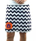 Chevron Auburn Tigers Gameday A Line Striped Yoga Sports Women Skirt XS ~ XL