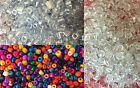 50g glass seed beads size 6/0 (approx 4mm) - choice of colours (BD21)