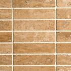 NOCE TRAVERTINE VEIN-CUT Mosaics  from £3.89  Lowest price on Ebay 1st Quality