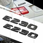 BLACK REAR BOOT TRUNK LETTER EMBLEM BADGE FOR W210 W211 E CLASS E230 AMG ABS