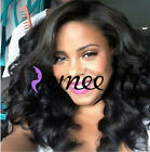 "14"" ~ 20"" Malaysia Wave Full/Front Lace Wigs Brazilian Human Hair Density 150%"