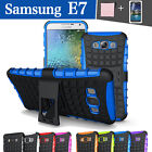 TPU Case Cover For Samsung Galaxy E7 E700 Shockproof Heavy Duty With Kickstand