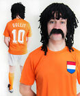 Ruud Gullit Holland 80's 90's Football Fancy Dress Costume ideal for Stag Party