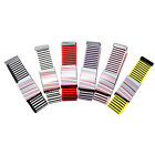 Unisex Belts Stripe Design Woven Canvas Alloy Buckle Adjustable Waist Waistband