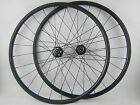 Disc brake 24mm Clincher carbon cyclocross bicycle wheels 20.5/23/25mm width