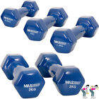 Fitness Training Vinyl Aerobic Dumbell Set Home Workout Free Gym Hand Weights