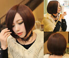 New Bob Sexy Fashion Womens Short Straight Hair Full Wigs Cosplay Party Wigs