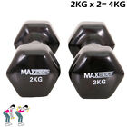 0.5KG to 2KG Fitness Weigth Training Dumbell Vinyl Coated Home Fitness workout