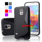 New S-Line Soft TPU Gel Case  Skin Cover For Samsung Galaxy S5 i9600