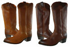 Frye Womens Deborah Pull On Apricot Casual Knee High Heels Riding Boots