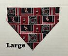 University of South Carolina Gamecocks Over Collar Slide On Pet Dog Cat Bandana
