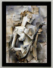 Pablo Picasso Girl with a Mandolin canvas print, framed, giclee 6.8X8.8&10X13,6