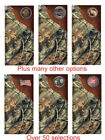 Custom Realtree AP Camo Checkbook Wallet Fire Masonic Don't Tread on Me Police
