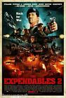 The Expendables 2 2012 Film Canvas Wall Art Movie Poster Print Gun Jason Statham