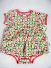 NWT Jaxxwear Infant Girl Skirted Bodysuit/Onesie 100% Cotton Multi-Color