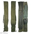 ROD HOLDALL BAG 3 + 3 PADDED FOR  12FT RODS CARP FISHING TACKLE NGT
