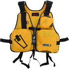Hot Sale Adjustable Fly Fishing Life Vest Mutil-Pocket Outdoor Hiking Camping