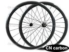 R13 +CN 424 spokes 38mm Clincher carbon bicycle wheels alloy braking surface
