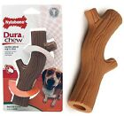 Tough Dog Chews Nylabone Dental Toy Hollow Plastic Wood Stick 2 Sizes To Choose