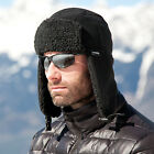 RESULT THINSULATE SHERPA FLEECE HAT WINTER TRAPPER HIKING WARM LINED WOMENS MENS