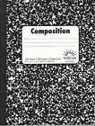 New Composition Note Books College Ruled ~ 100 Sheets FREE SHIPPING *You Choose*