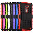 Hybrid Impact Armor Rugged Hard Case Stand Cover For ASUS Zenfone 2E ZE500CL 5''