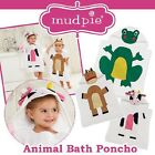 Mud Pie Barnyard Horse, Frog, or Cow Bath Poncho
