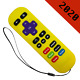 Replacement Remote for ROKU 1/2/4 Express+/Premiere+/Ultra Yellow-6 Shortcut günstig
