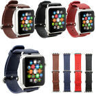 Classic Soft Genuine Leather Buckle Watchband Straps Band Strap for Apple Watch