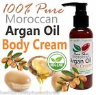 earthbody PURE SKIN MOROCCAN ARGAN OIL BODY CREAM 100% PURE NATURAL ORGANIC
