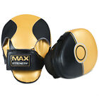 MMA Curved Focus Pads Mitts Hook & Jab Punch Boxing Bag Kick Thai Training Pad