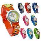 Ravel Kids Childs Boys Girls Watch 3D Silicone Band Choose from 9 Designs