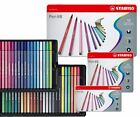 Stabilo Pen 68 Fibre Felt Tip 1.0mm Pens - Assorted Tins 10, 15, 20, 30, 40, 50
