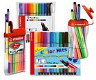 Stabilo Pen 68 MINI Fibre Felt Tip 1.0mm Colouring Pens - All Pack Sizes