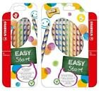 Stabilo Easy Colors Colouring Pencils - Right & Left Handed - 6 or 12 Pack