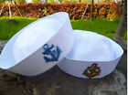 Kids Girl Boy Adult Women white Navy Sailor anchor marine Costume Party Hat Cap