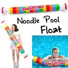 Smarties Roll Inflatable Swimming Pool Noodle Float ~ Big Mouth Toys - OVER 5 FT